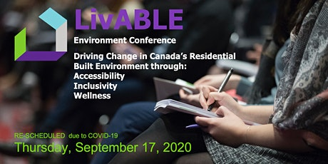 LivABLE Environment Conference:  Inclusive Home Design for Living In Place tickets