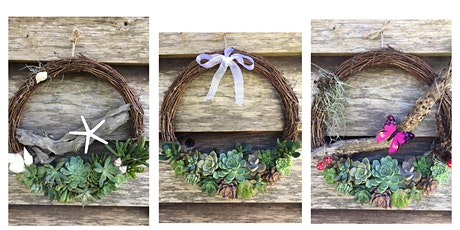 Succulent Wreath tickets