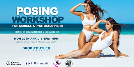 Posing Workshop for Models & Photographers by Brodie Butler tickets