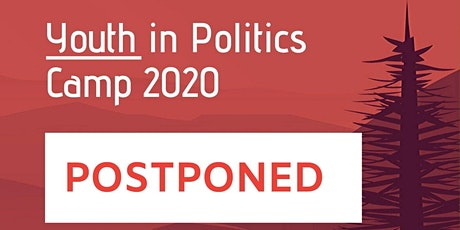 POSTPONED Youth in Politics Camp 2020 tickets