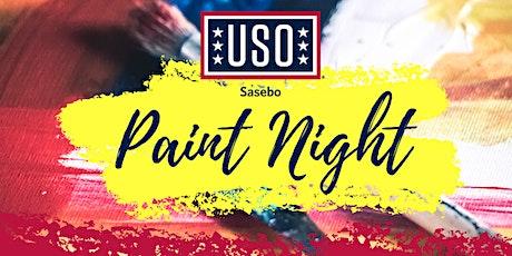USO Sasebo Paint Night tickets