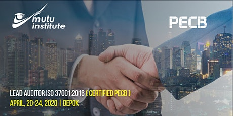 Lead Auditor Course ISO 37001:2016 - PECB Registered - IDR 13.500.000,- tickets