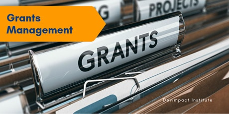 Training on Grants Management tickets