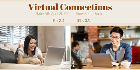 DM Virtual Speed-Dating Event! (Females<32, Males<35) (With Videoconferencing & 1-to-1 Rotations) tickets