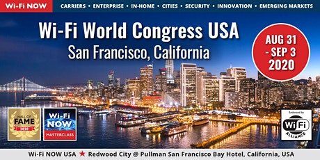 Wi-Fi NOW 2020 USA August tickets