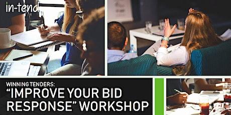 "Winning Tenders Workshop - ""Improve Your Bid Response"" August 2021 tickets"