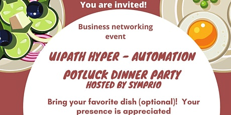 RPA Overview  Discussion Potluck Dinner Party!   tickets