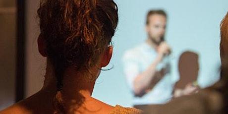 Managing Presentation Anxiety - A workshop tickets