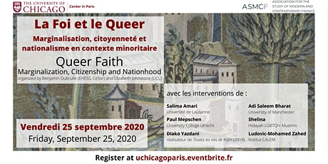La Foi et le Queer / Queer Faith billets
