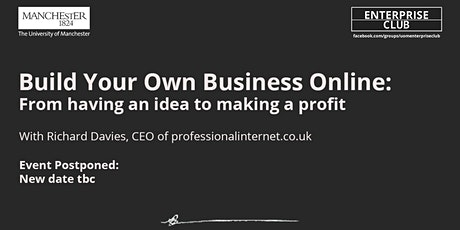 POSTPONED: Build your own business online tickets