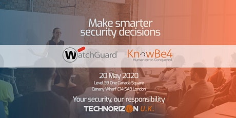 Cybersecurity Seminar – Make SMARTER security decisions tickets