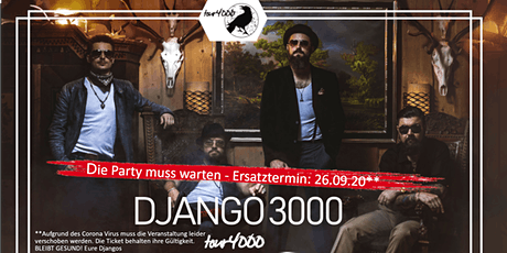 Django 3000 - Tour 4000 - Darmstadt Tickets
