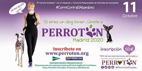 PERROTON MADRID 2020 LA CARRERA tickets