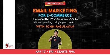 Email Marketing for E-commerce with John Pagulayan tickets