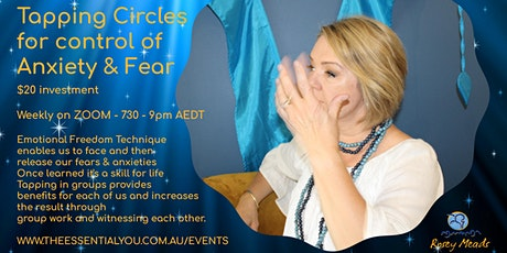 Tapping Circles - To control anxiety and fear tickets