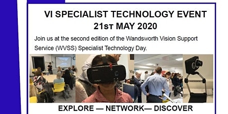 VI SPECIALIST TECHNOLOGY DAY - Wandsworth Sensory Support Service tickets