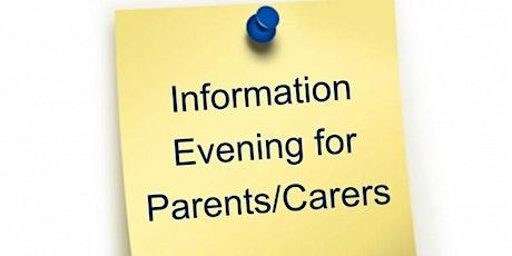 NCS Parent/Guardian Information Evening-Ashford April 2020 tickets