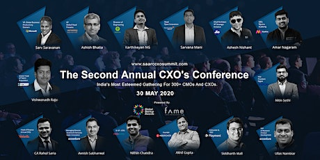 SAARC CXO Conference 2020(Paid Event) tickets
