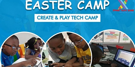 EASTER CAMP- CREATE & PLAY TECH CAMP tickets