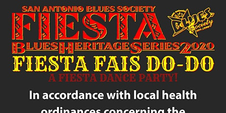 2020 Fiesta Blues Heritage Series CANCELED tickets
