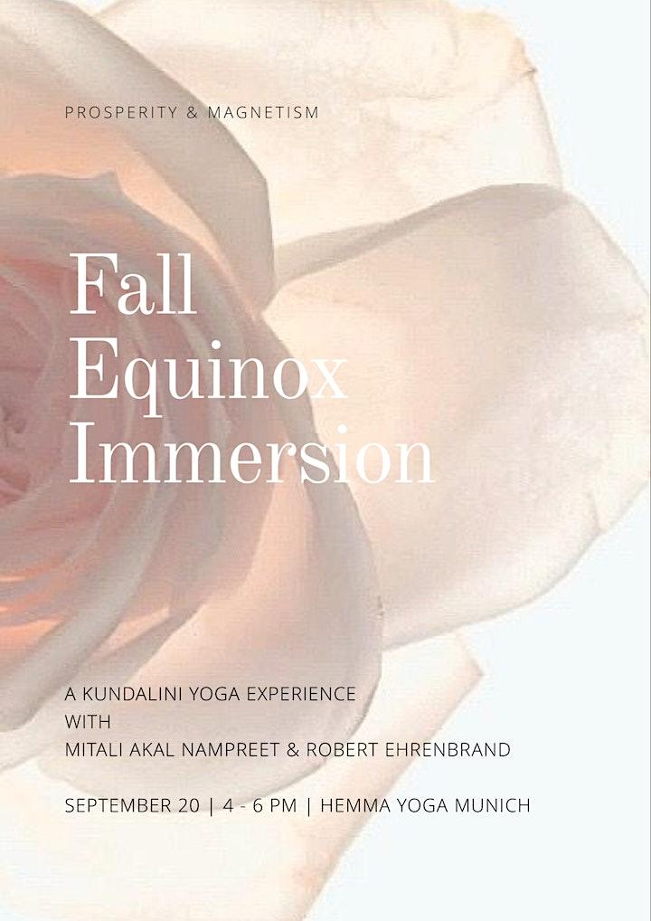 Fall Equinox Immersion - A Kundalini Yoga Experience with Mitali & Robert: Bild