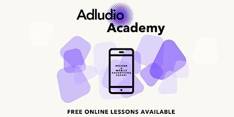 Adludio Academy: Free MarTech Webinars! tickets