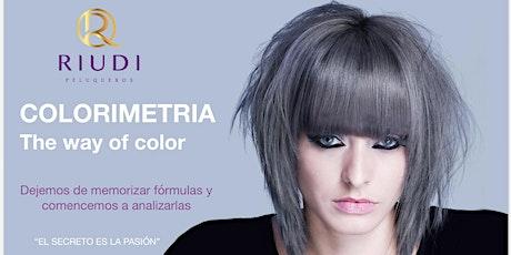 Colorimetría: The way of color 3 tickets