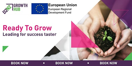 Ready to Grow - Leading For Success Taster  tickets