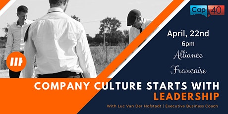 Leadership for sustainable company's culture tickets