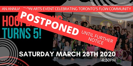 POSTPONED! HooperSonic Turns 5 tickets