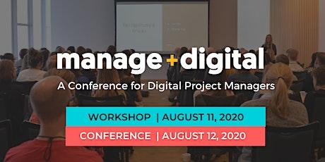 Manage Digital 2020 tickets