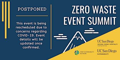 Zero Waste Event Summit tickets