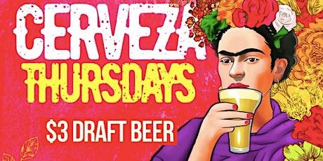 Thirsty Thursday Specials - La Mexicana tickets
