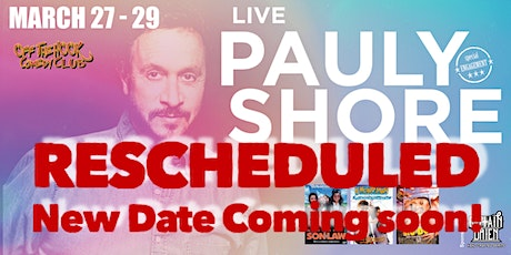 Pauly Shore Stand Up Comedy Show at Off The Hook Comedy Club tickets