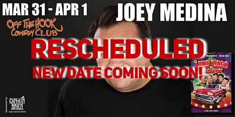 Comedian Joey Medina Live In Naples, FL Off The Hook Comedy Club tickets