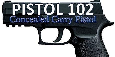 Ladies Pistol 102 Concealed Carry Pistol tickets