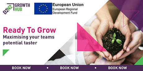Ready to Grow - Maximising Your Team's Potential Taster  tickets