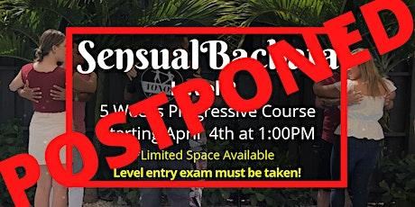 Sensual Bachata- Level 2 (5 Weeks Progressive Cour tickets