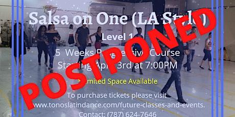 Salsa on One (LA Style) - Level 1 (5 Weeks Progres tickets
