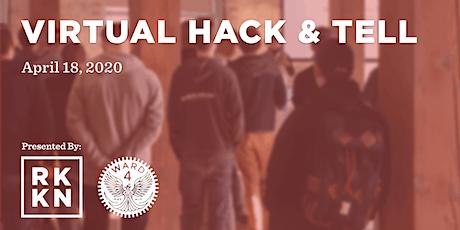 Hack & Tell tickets