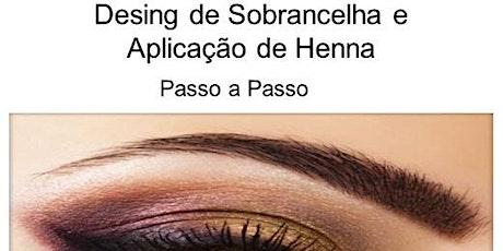CURSO DESIGNER SOBRANCELHA + HENNA ingressos