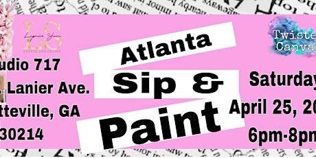 Atlanta Sip & Paint tickets