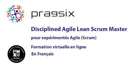 Virtuel - PMI Disciplined Agile Lean Scrum Master pour expérimentés Agile boletos