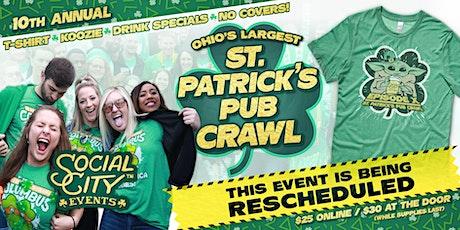 SOCIAL CITY'S 10TH ANNUAL ST. PATRICK'S PUB CRAWL tickets