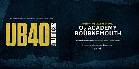 UB40 2020 (O2 Academy, Bournemouth) tickets