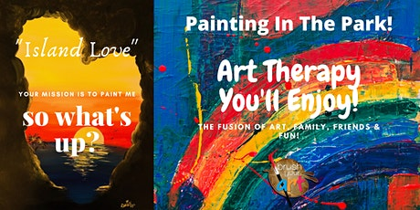 Painting In The Park (Art Therapy) Session I tickets