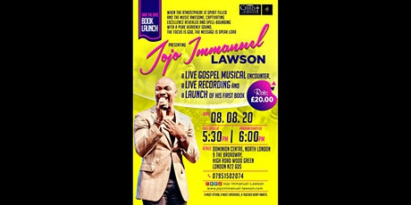 Jojo Immanuel-Lawson: Live Gospel Music Encounter & First Book Launch tickets