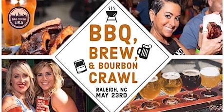 BBQ, Brew, & Bourbon Crawl: Raleigh tickets