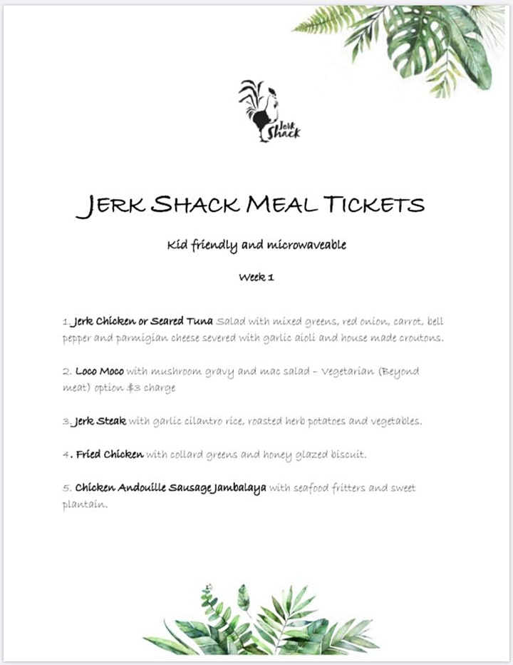 Meal Ticket image
