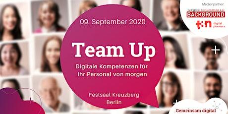 Team Up - Digitale Kompetenzen für  Ihr Personal von morgen Tickets
